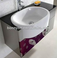 wall cabinet with glass door marble stainless steel bathroom cabinet bath vanity