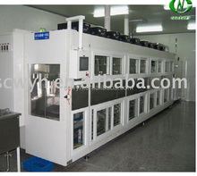 Automatic industrial ultrasonic cleaner for solar silicon wafer