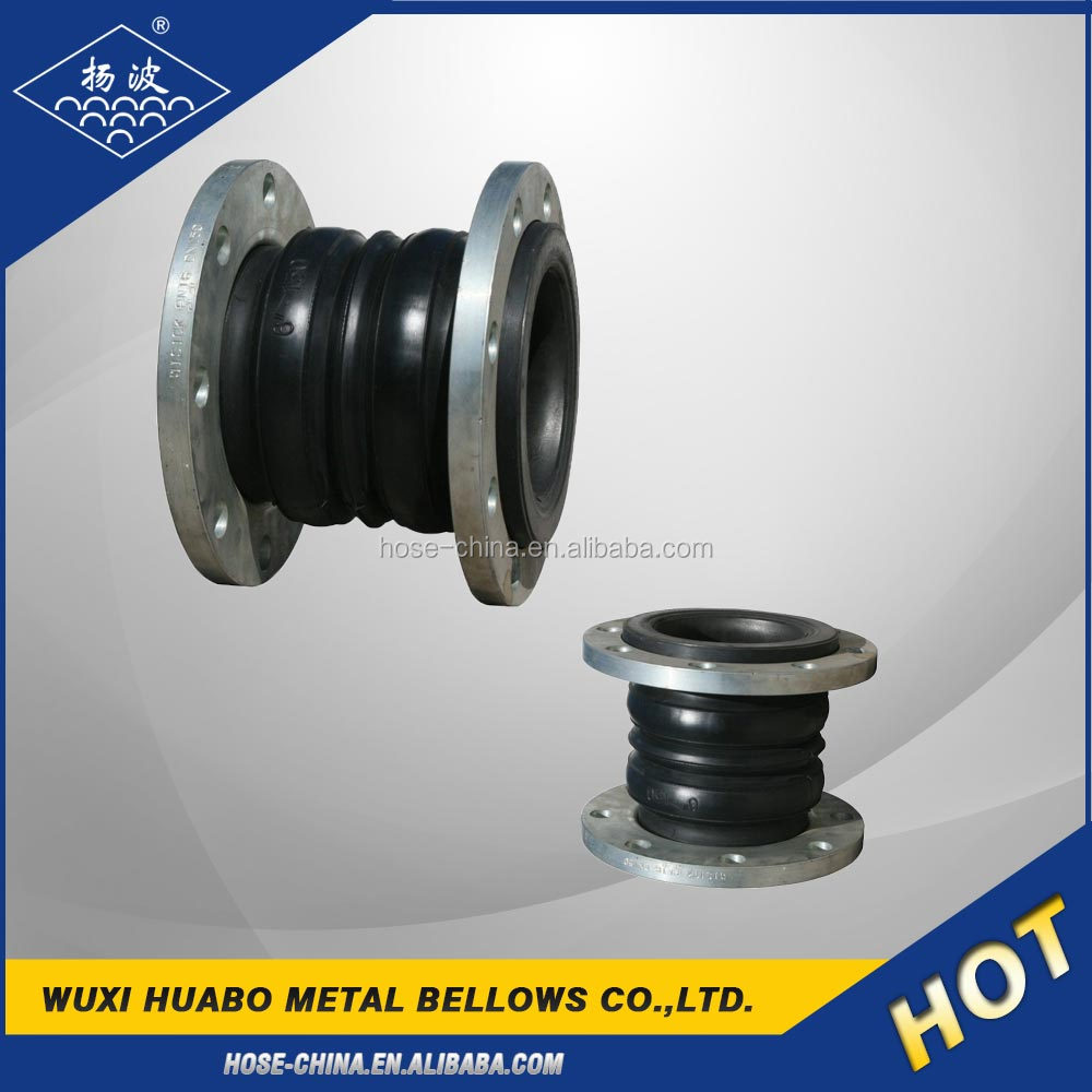 Supplier double ball twin sphere rubber expansion joint