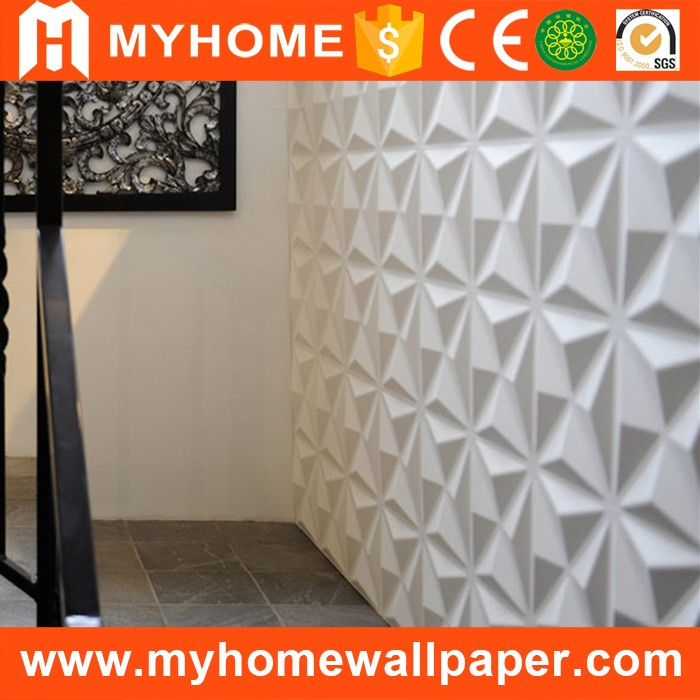 Wall decoration stickers 3d texture interior wall panels for house decor