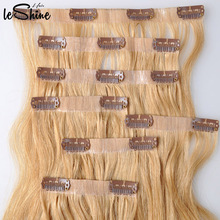 Clip In Layer Hair Extension Best Quality Hijab Hair Flower Clip