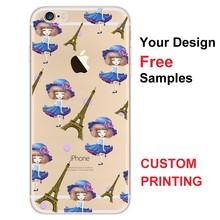 3D deep pattern tpu mobile phone cover for iphone6, case with 3D movie images effect