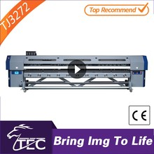 fast speed 3.2m dx7 digital banner small print and cut machine