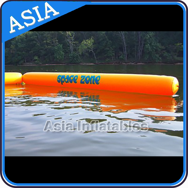 Tube Shape Inflatable Buoy For Water Event / Custom Open Water Swim Buoy