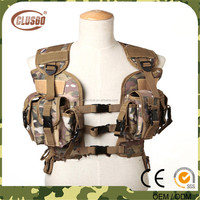 High quality tactical hunting vest, military army promotion combat CS vest, Army Traning vest