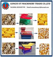 Automatic Farm maize peeling machine/maize sheller/corn dehusker
