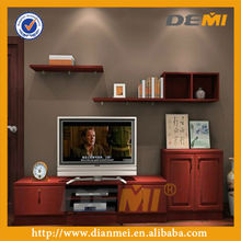 high quality tv stand modern cabinet with red color