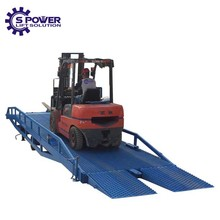 Spower motorhome leveling pipe lifting ramp equipment