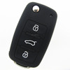 High quality 3 buttons silicone car key cover for vw key remote key shell