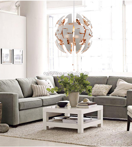 Newest ball creative changeable contemporary modern hanging pendant light