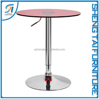 2016 new bar furniture wooden high bar table for sale