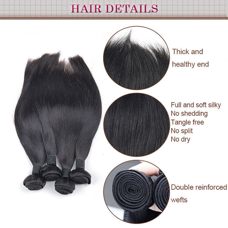 Human hair extension silk base closure lace frontal, full lace frontal closure hair pieces