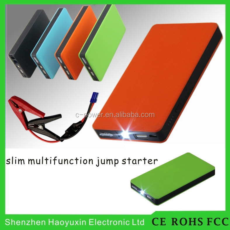 CE ROHS GS UL Certification multi-function jump starter Emergency car accessories