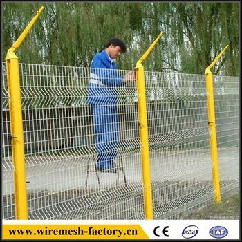 curvy welded oregon pole mesh fence on promotion