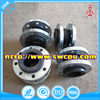 Custom made different types flanged rubber expansion joint