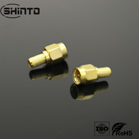 High Quality SMA Plug RF Connector With Gold Plated