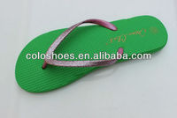 personalized flashing cushioned slippers for ladies