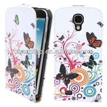 Fashion Leather Flip Cover For Samsung Galaxy S4 Mini i9190