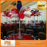 fashion colorful wedding atificial ostrich feather for wholesale china