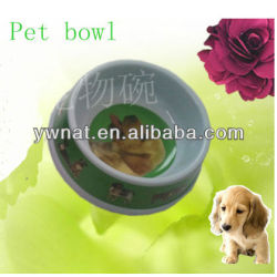 Cheap Cartoon plastic dog bowls /Melamine pet bowls