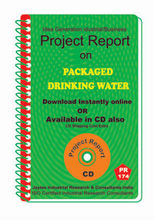 Project Report On Packaged Drinking Water