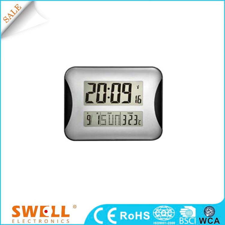 and digital wall clock year month day date