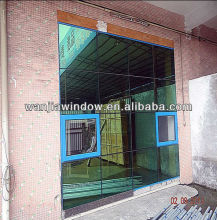 high performance backlit glass onyx curtain wall