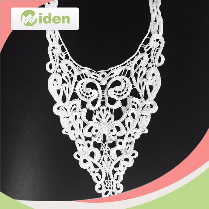 Ladies Suit Neck /Collar Lace Designs,Embroidery Lace Collar Necklace,Cotton Crochet Lace Collar,China wedding dress embroidery