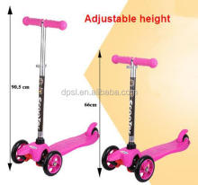 Midou 3 wheel kick scooter with adjustable T-bar