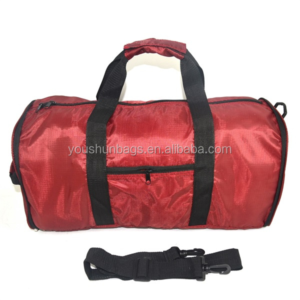 Polyester Ripstop Cheap Promotional Folding Travel Bag For Travel