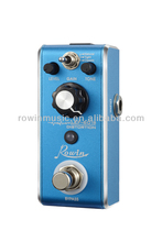 2015 hottest rowin music new high quality Flanger delay overdrive guitar effect pedal with wholesale price in stock,