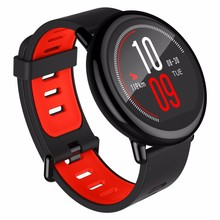 Original Amazfit Watch dual core Ip67 Waterproof Huami Amazfit black and red color