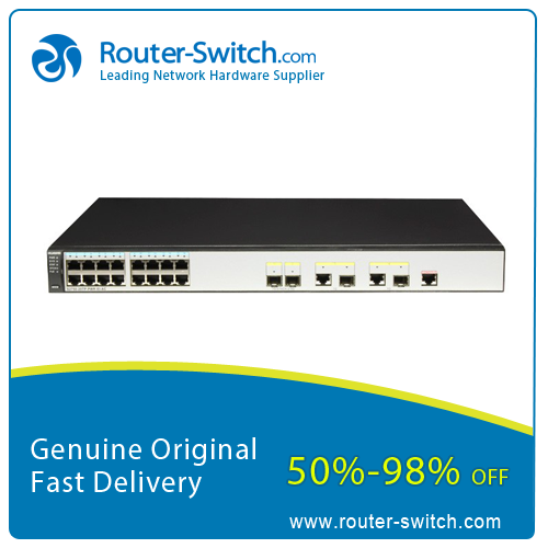 Huawei Quidway S2700 Series Switch 16 port Fast Ethernet POE+ Layer 2 Network Switch S2750-20TP-PWR-EI-AC