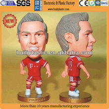 Plastic figure model;plastic model figure football;plastic miniature figure model
