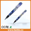 Fashion Laster Printing Blue Pen Shape USB Memory