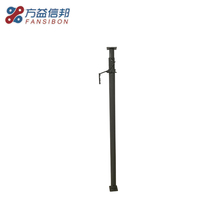 Adjustable steel strong galvanized scaffolding shoring jack props for construction