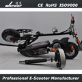 two wheel CE approved adult electric scooter with basket chinese electric scooter