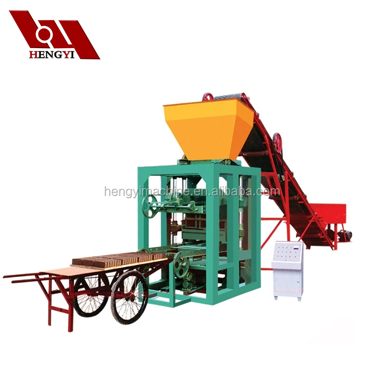autoclaved aerated concrete block machine / factory priceQT4-26/hydraulic cement block machinery