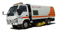China Manufacture Dongfeng 4*2 DFL5120B price of road sweeper truck for sale