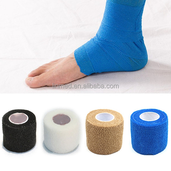 Wholesale Fiberglass Medical Bandage Cohesive Tape Self Adhering Bandage