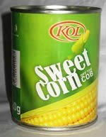 Sweet Corn off the Cob