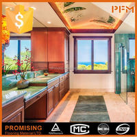laminated kitchen cabinet prefabricated bar tops