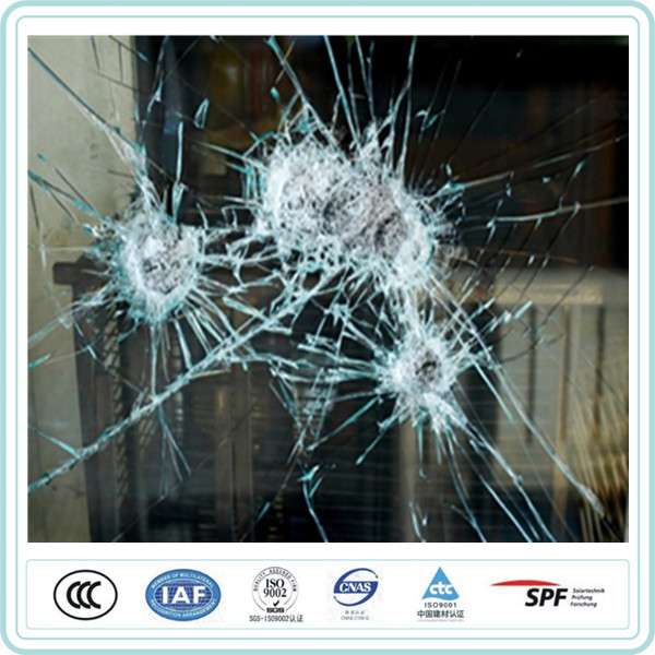 one way bulletproof car armored glass for armored vehicles