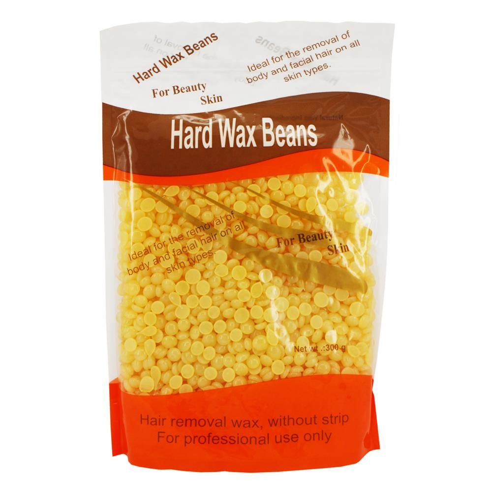 300g high quality Hard Wax Beans No Strip Depilatory Hot Film Hard Wax Pellet Waxing Bikini Hair Removal Bean