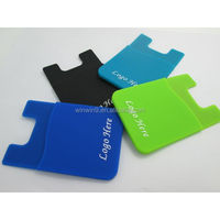 business card holder to attach in mobile