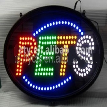 LED PET Open Signs;LED Outdoor Signs;Cheap LED Sign