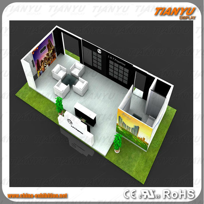 Custom Exhibition Stall Stands Display Model
