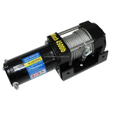 4500lbs 12V Electric Recovery Waterproof Winch With Wired Switch & Wireless Remote for UTV ATV Boat Trailer Ranger