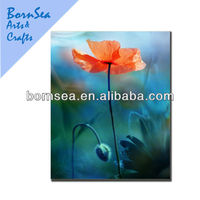 orange flower digital picture photograph canvas prints
