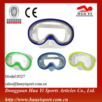 Safety Glasses Diving Equipment one window kids diving mask eyewear